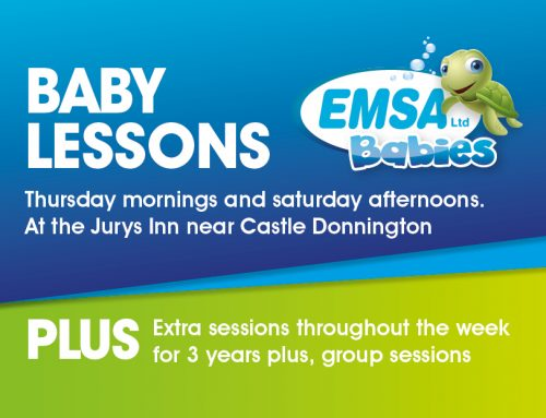 Baby lessons at Jurys Inn, Castle Donnington