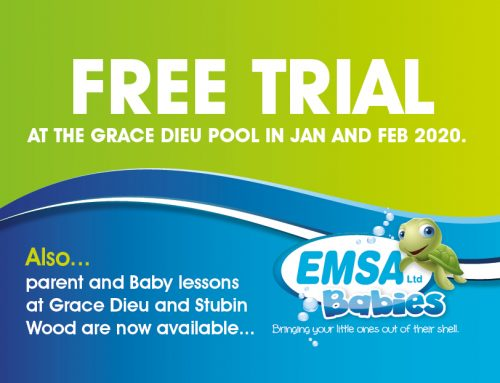 FREE TRIAL at the Grace Dieu pool in Jan and Feb 2020
